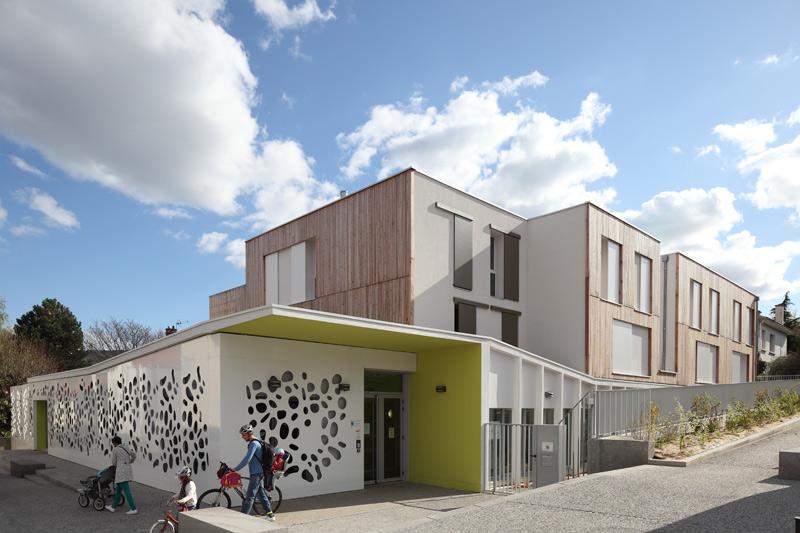 Pôle petite enfance, Aubière. Architectes: V. Brugerolles & A. Montrieul