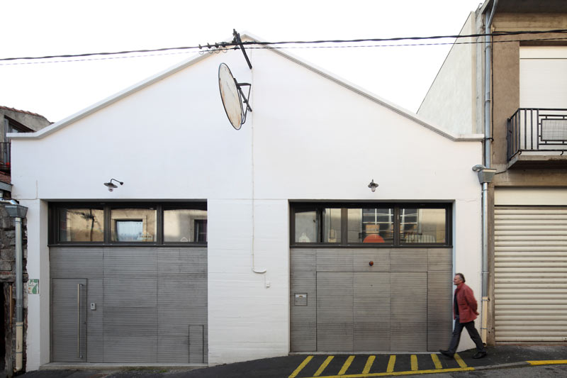 transformation d'un garage automobile en logement, le puy-en-velay ... - Transformer Un Garage En Logement